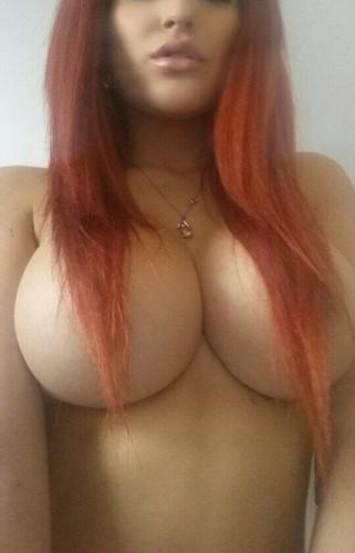 sexy redhead big boobs naked